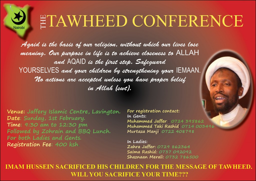 TAWHEED CONFERENCE